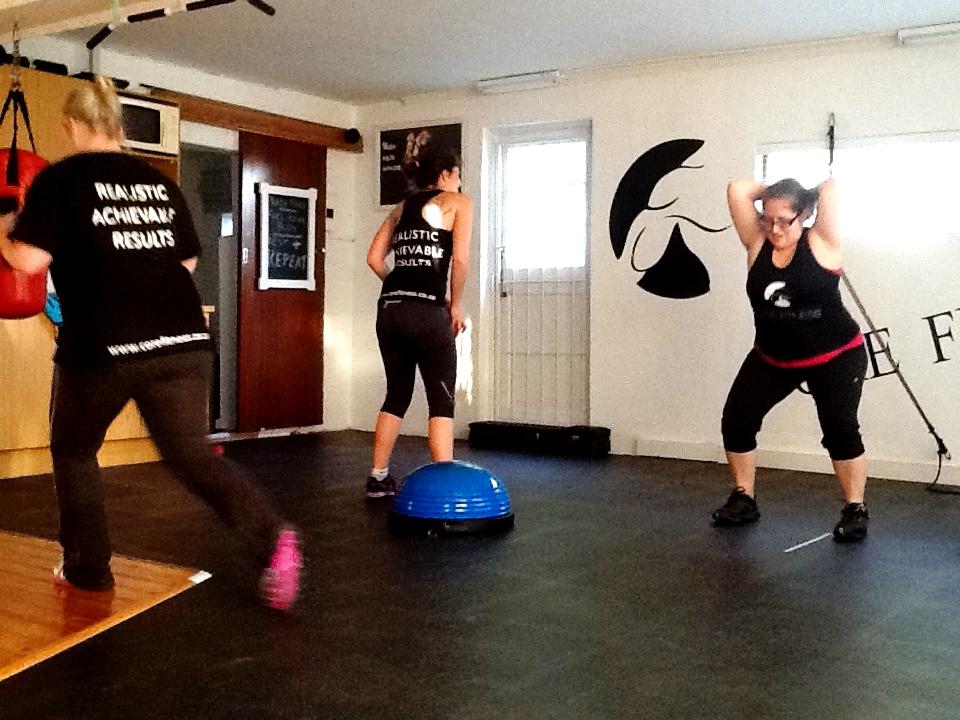 Ladies 300 Spartan workout